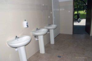 Zdjęcie łazienki (pole namiotowe)