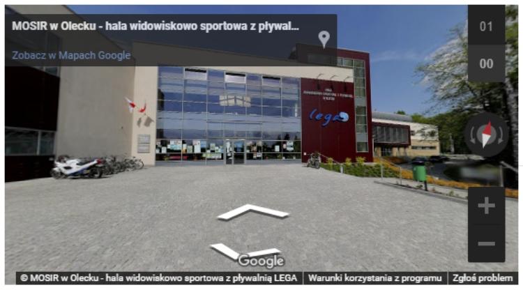 screenshot z wirtualnego spaceru
