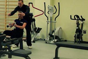 Zdjęcie urządzeń na siłowni