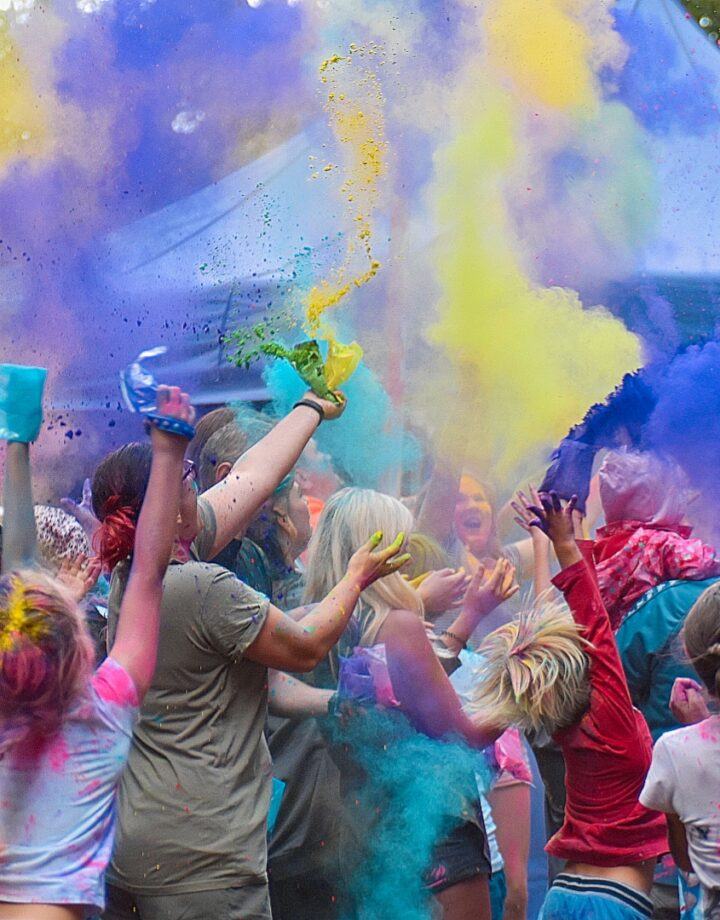 Kolorowa Wielka Frajda z MOSiR w Olecku