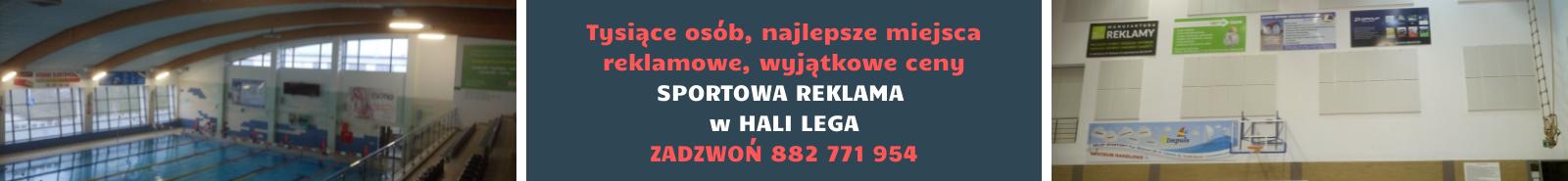 Reklama w Hali Lega